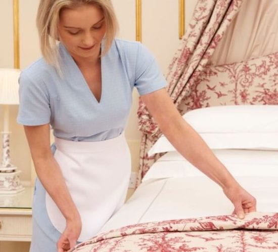 Housekeeping uniforms for hotels