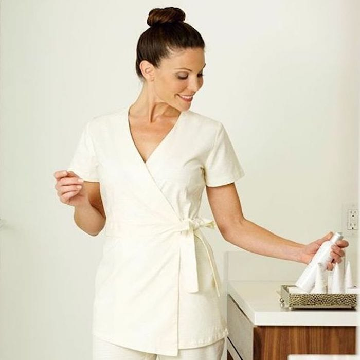luxury spa uniforms for resorts