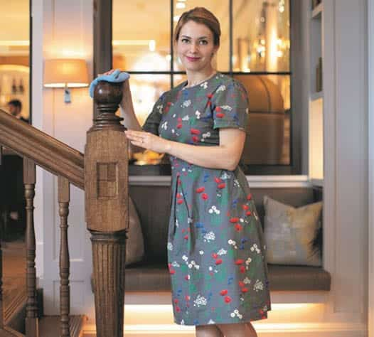 luxury uniforms for London hotels