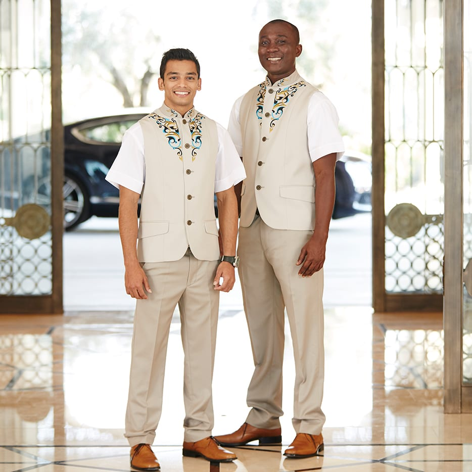 exclusively designed uniforms Four Seasons