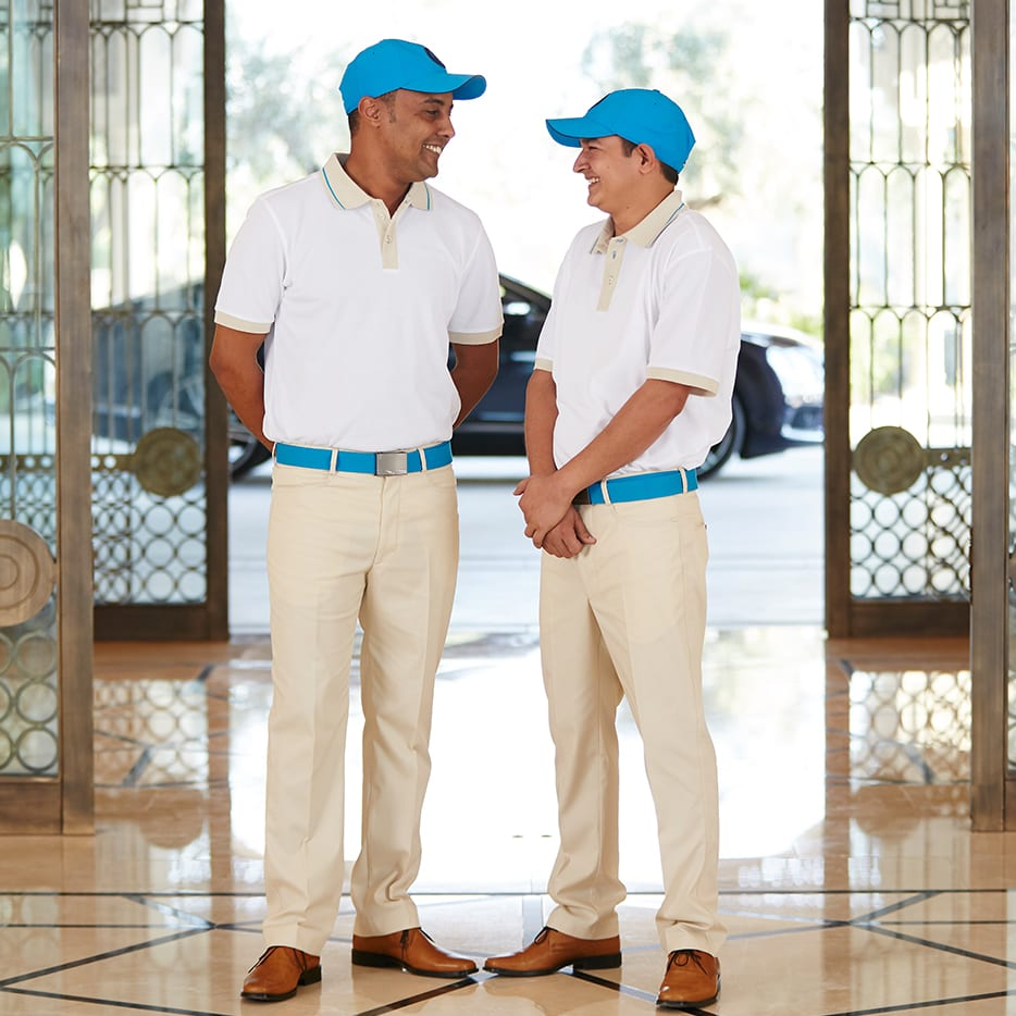 uniforms for resorts
