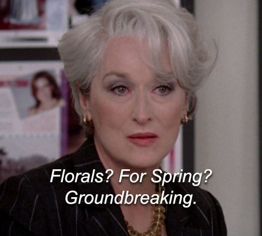 Florals for spring groundbreaking