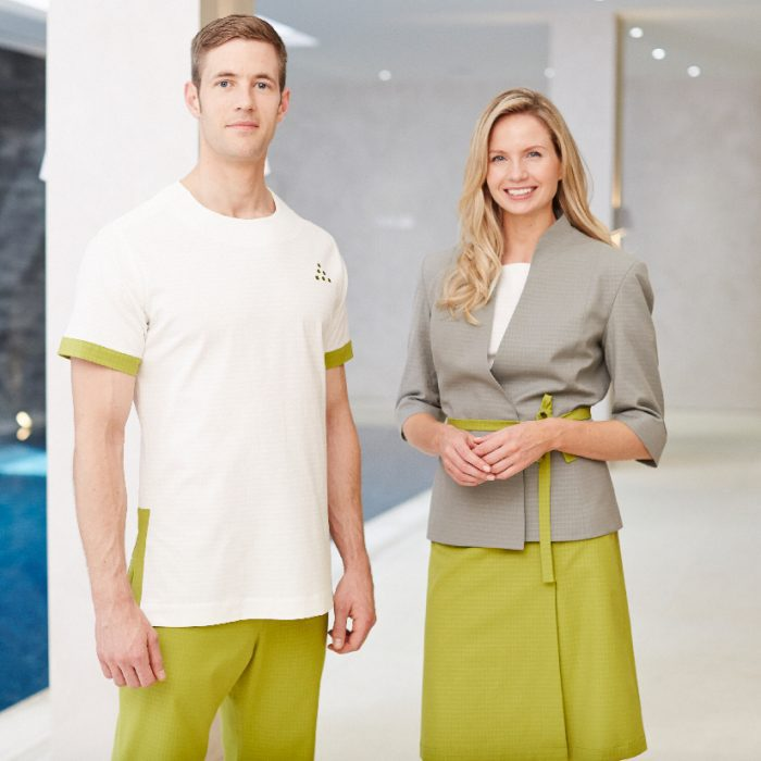 Bespoke Spa Uniforms by Fashionizer Bespoke Uniforms for Six Senses Spas