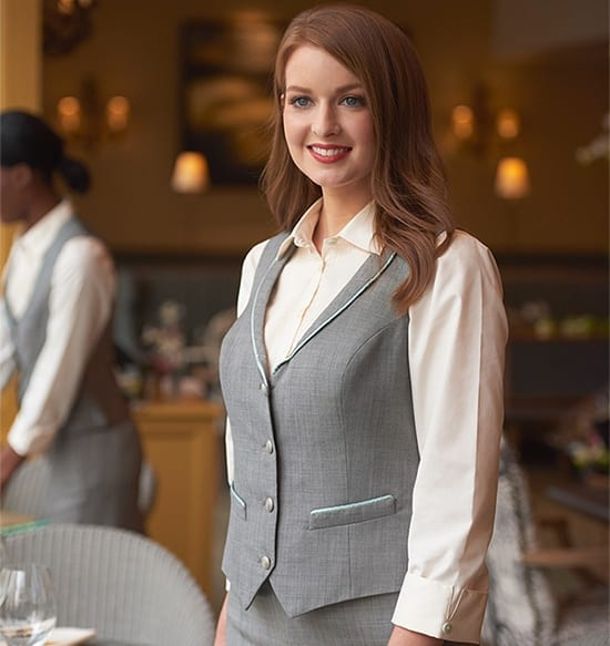 stylish hotel uniforms