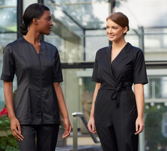 Sustainable resort uniforms