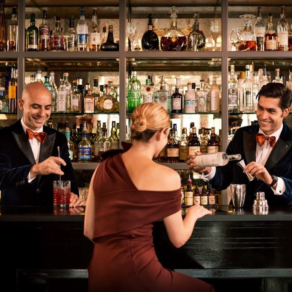 The Connaught Bartender uniform